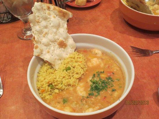 Big Al's Oyster Bar--The Orleans: shrimp pan roast