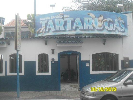 Pousada Recanto das Tartarugas: entrada