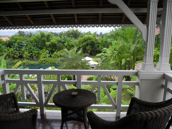 The Luang Say Residence: Aussicht auf Pool