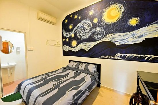 Little Nature Penang Homestay: Starry Starry Night - Double Deluxe Room