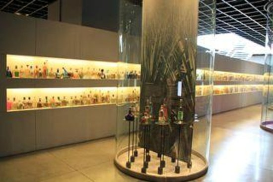 Museo del Tequila y el Mezcal: Many brands of tequila and mescal