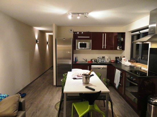 Hotel de l'Arve: Soggiorno dell'appartamento superior