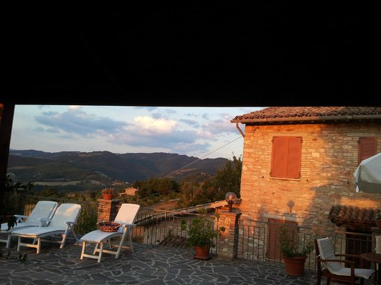 part of the view from the terrace - Picture of La Terrazza del ...