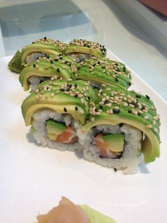Do sushi : Dragon saumon avocat