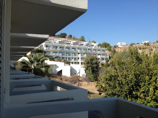 Lindos White Hotel and Suites: 'garden view'