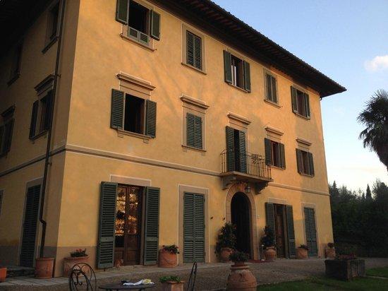 Casa Volpi: Abendsonne auf der Fassade