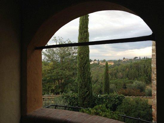 Salvadonica - Borgo Agrituristico del Chianti: Blick vom Balkon