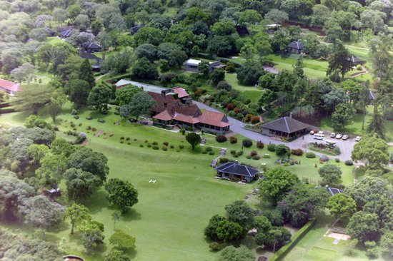 Aberdare Country Club: Aerial view
