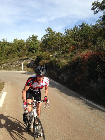 ‪‪Seguret‬, فرنسا: Cycling the col de Murs~Provence‬