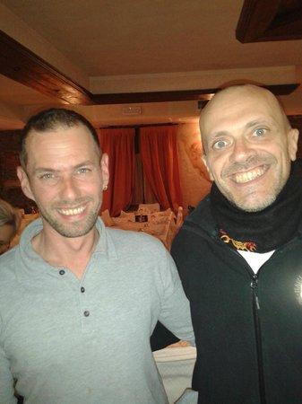 Perbacco: Max Pezzali con Marco al Per...Bacco