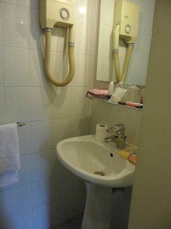Hotel des Bains : il lavandino nel bagno
