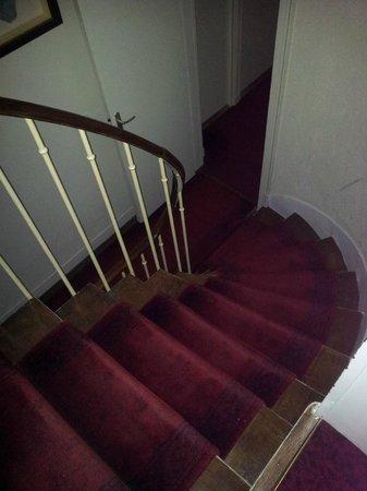 Hotel des Bains : le scale