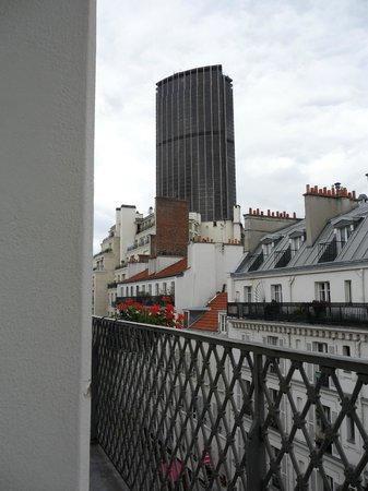 Hotel des Bains: vista dal terrazzino