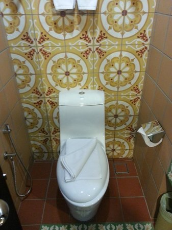Swan Garden Hotel: Toilet