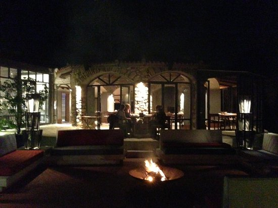 Alancha Alacati: nice warm fire