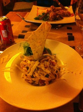 Rocanegra Mountain Lodge & Spa: cena