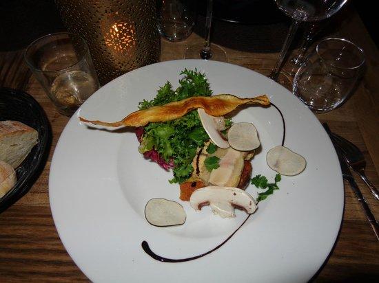 Boem : Entrée foie gras