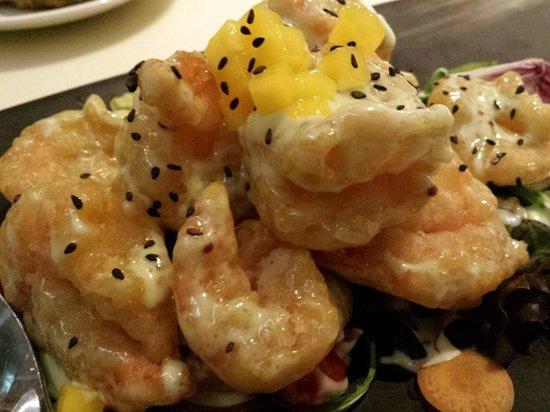 Tung Lok Signatures: wasabi prawns