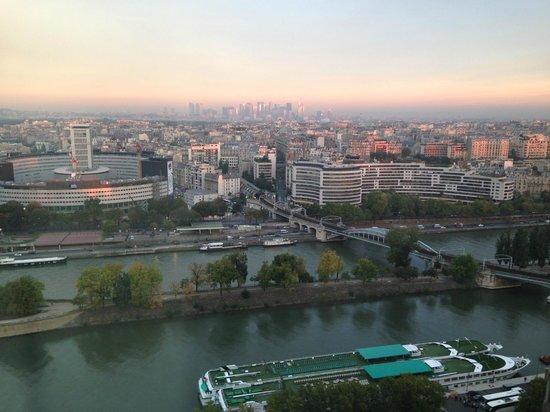 Novotel Paris Centre Tour Eiffel: vue superbe
