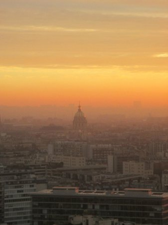 Novotel Paris Centre Tour Eiffel: superbe vue