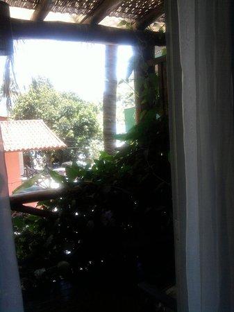 Pousada Jamanta: Vista da varanda para pousada