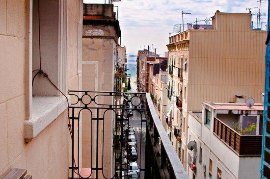 Barceloneta Suites: balcon en grau i torras