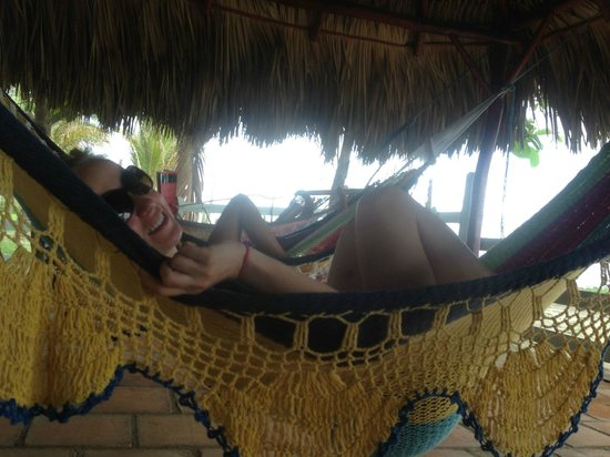 Rise Up Surf Tours Nicaragua: Our hammock area