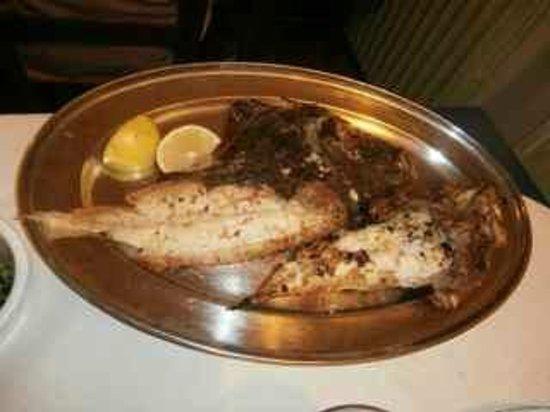 Osteria del Pescatore: Sogliole alla griglia
