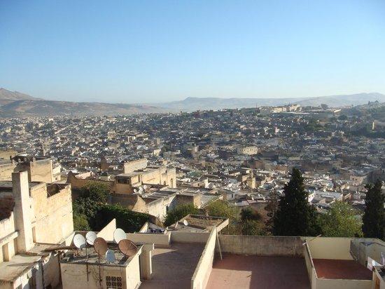 Palais Faraj Suites & Spa: Vista desde el restaurante-Terraza