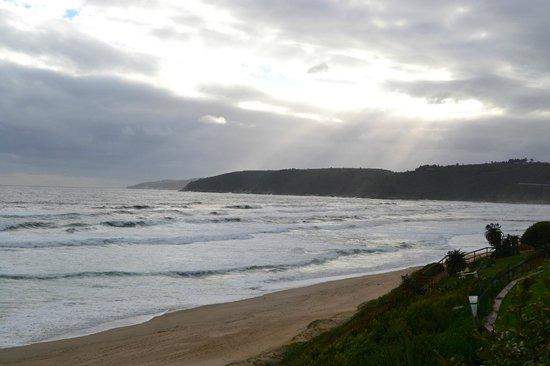 Dune Guest Lodge : Blick auf Strand und Meer