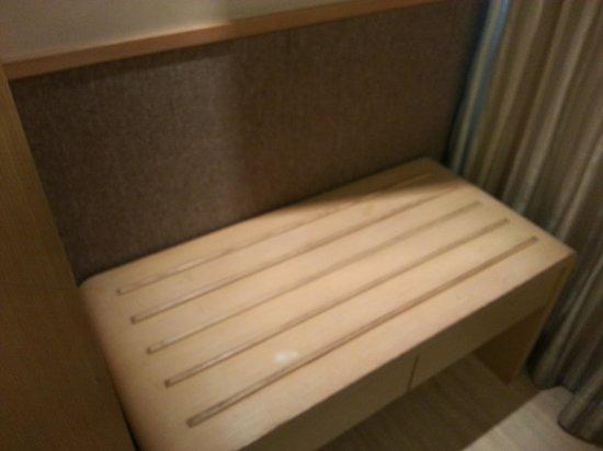 Hotel Benito: luggage corner
