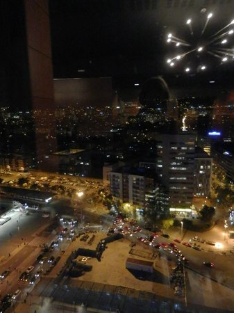 Gran Hotel Torre Catalunya: View from the top floor