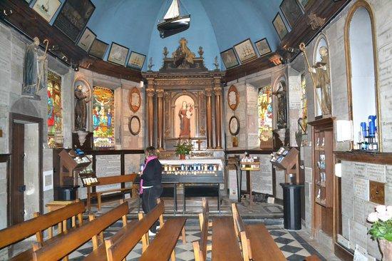Notre Dame de Grace : Vue de l'autel