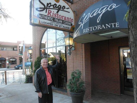 Spago Ristorante Italiano : the front of the place...