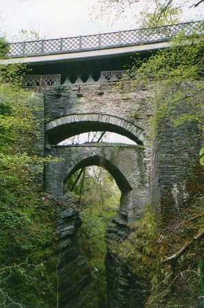 The Hafod Hotel: Bridge, Very Near The Hotel