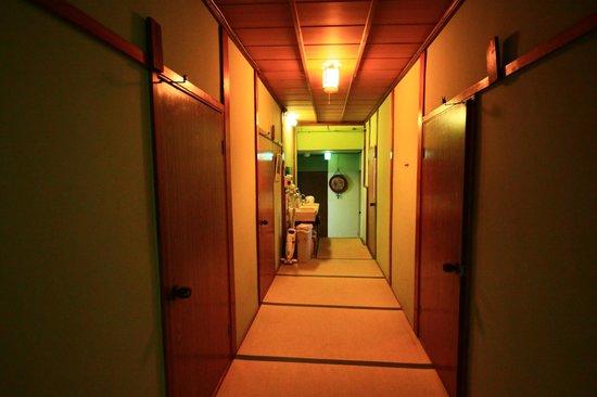 Daiya Ryokan: The corridor.
