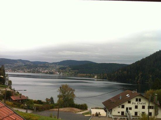 Les Reflets du Lac : vue de la chambre n°26
