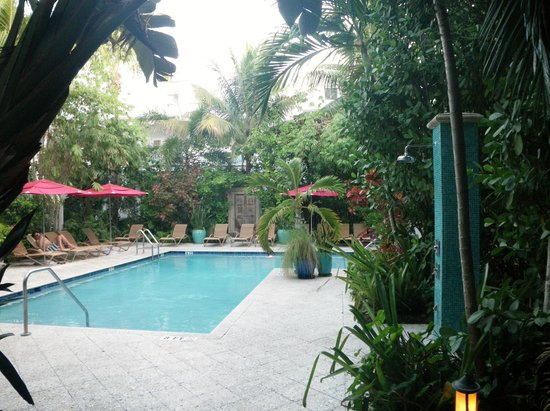 Parrot Key Hotel and Resort: one of the four secluded pools