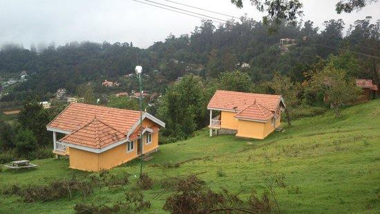 Surya Holidays Kodaikanal: View of the sweet huts..