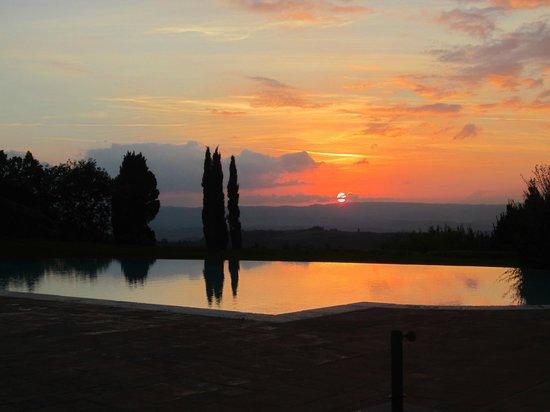 Hotel Borgo Di Cortefreda Relais : Sunndowner