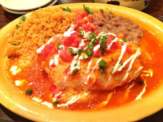 Margarita's: Burrito Suizo!