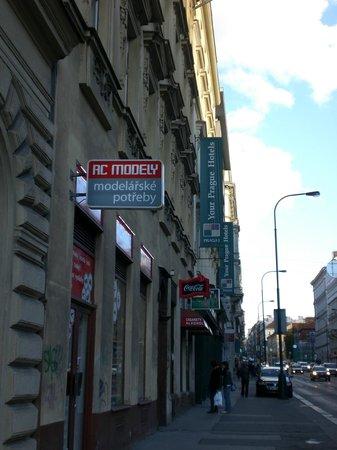 Hotel Praga 1 : facciata