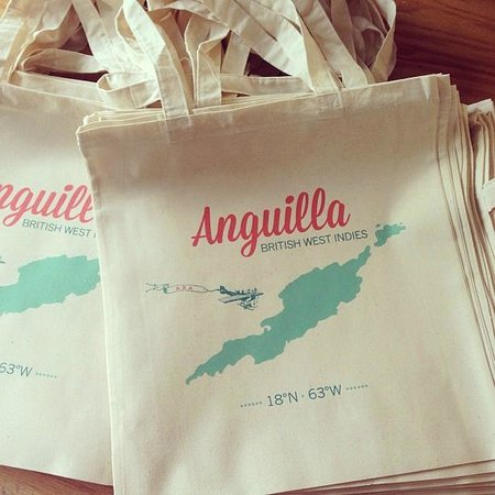 Petals Boutique: Anguilla and Frangipani tote bags {Exclusive to Petals}