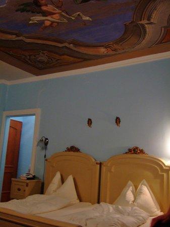 Hotel Villa Carona: メインの寝室