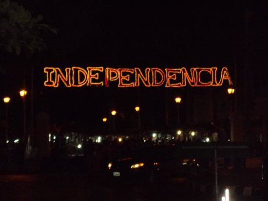 Suites del Sol: We arrived on Independence Eve, 2013.