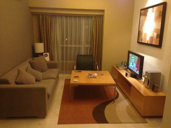 living room - Picture of Somerset Berlian Jakarta, Jakarta ...