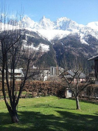 Chalet Cachat : View from my room