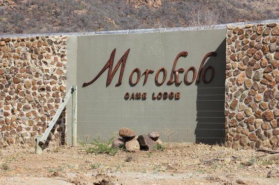 Morokolo Game Lodge: gate