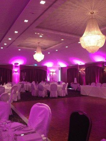 Tulfarris Hotel and Golf Resort: Pretty purple
