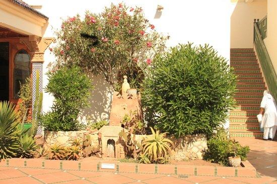 Hotel Ryad Mogador Essaouira: a destra ingresso x camere